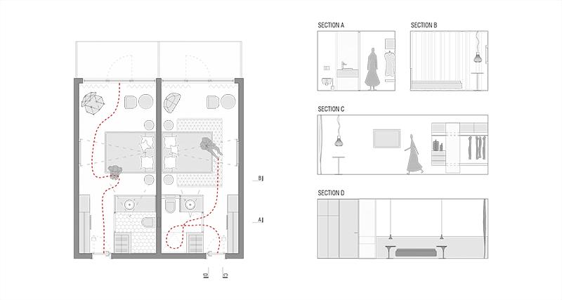 Hotel Njivice floor plan