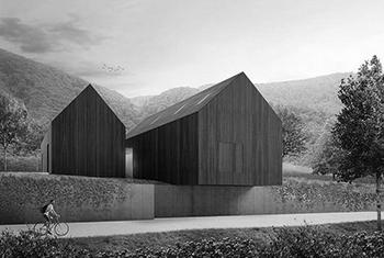 House JM slovenske Konjice grey new